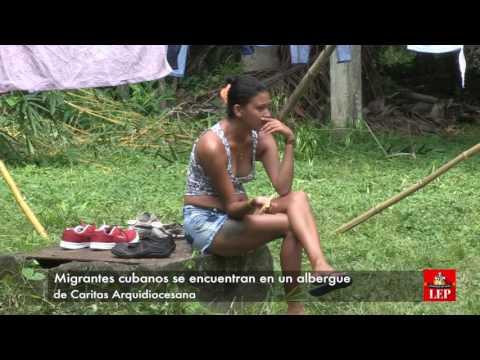 Caritas Panamá, alberga a 102 cubanos migrantes.
