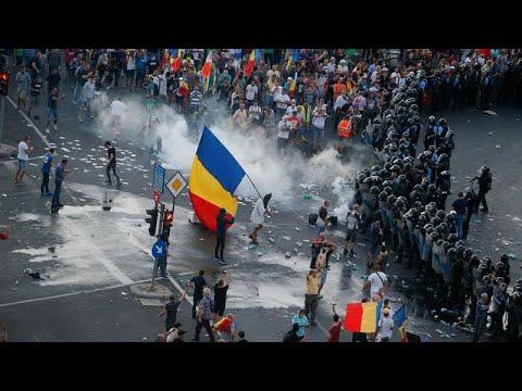 Rumänien: 435 Verletzte - Ermittlungen wegen Polizeig ...