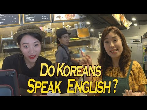 TALKING TO KOREANS IN ENGLISH - Do they Speak English in Korea?