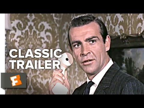 From Russia With Love (1963) Official Trailer - Sean Connery James Bond Movie HD