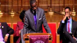 Crown Forum: Otis Moss, Jr. Oratorical Contest