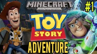 Minecraft Xbox - Toy Story Adventure - Let's Play #1