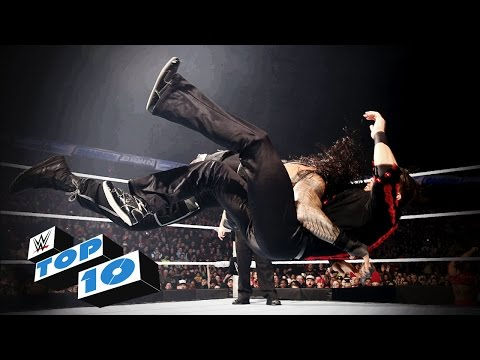 TOP - WWE Top 10 takes you back to this week's SmackDown to revisit the show's most thrilling, physical and controversial moments. More ACTION on WWE NETWORK : http://bit.ly/1u4pM74 Don't forget...