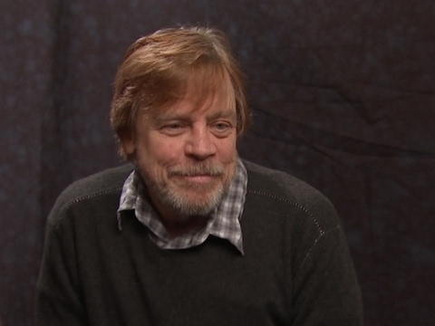 Mark Hamill reacts to new 'Star Wars' title (видео)
