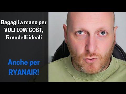 Bagagli a mano per voli low cost, 5 modelli ideali (anche per Ryanair)