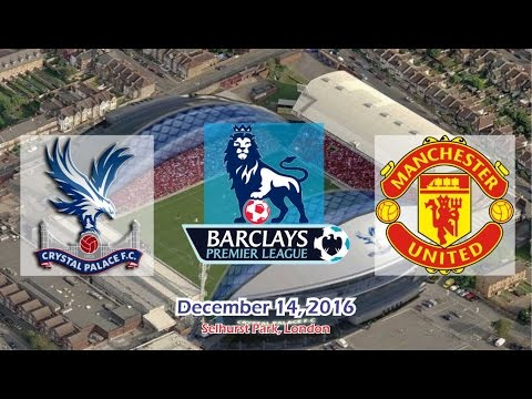 Crystal Palace Vs Manchester United 1-2 All Goals & Highlights 14/12/2016 | Premier League 2016/2017