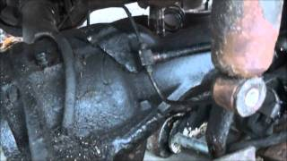 1978 FORD F150 4X4 FRONT AXLE REMOVAL DANA 44 HOW TO !!!
