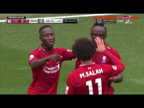 Liverpool Vs West Ham 4 0 HD Resumen