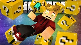 Minecraft Modded MiniGame LUCKY BLOCK SPLEEF! w/ Lachlan&Friends