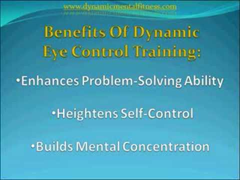 Improved Mental Concentration Through Eye Control Training
