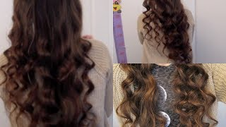 5 Minute No-Heat Curls! - YouTube