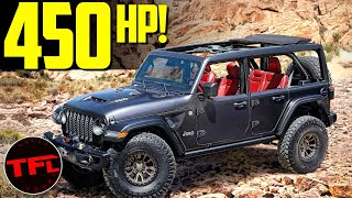Breaking News - The V8 Powered Jeep Wrangler Is Real and Could Be Coming To A Dealer Near You! by The Fast Lane Car