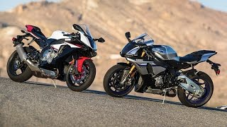 9. 2016 Yamaha YZF-R1M vs. YZF-R1S Comparison Test