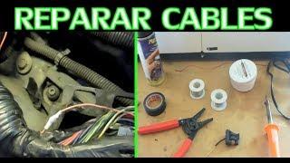 Ejemplo basico para unir cables con soldadura y ejemplo practico