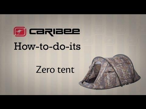 Відео демонстрація намету Caribee Zero 2