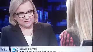 """Kempa w Kropce Nad I o tym, że wstydem jest to, że """"poprzednia ekipa"""" pozwoliła na to, że kornik drukarz poczynił takie spustoszenie w Puszczy Białowieskiej"""