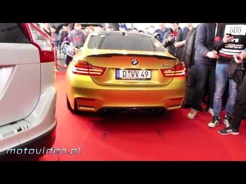 BMW M4 - Praca silnika