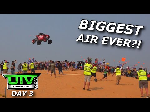 600hp RZR and X3 drags and HUGE air Huckfest! UTV Takeover Day 3!
