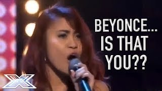 Beyoncé Soundalike Delivers A STUNNING Audition  X Factor Global