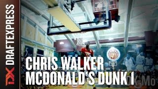 Chris Walker - 2013 McDonalds All American Dunk Contest - Dunk 1