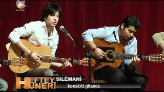 Gitanos Consert In Kurdistan Slemani Guitar Kurdish Boys 2012 Talents