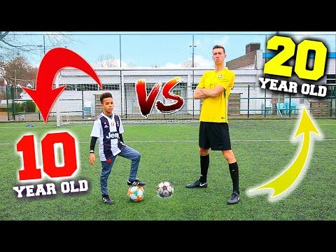 CALL OUT PENALTY CHALLENGE VS 10 YEAR OLD WONDERKID