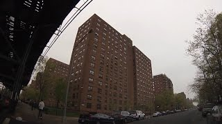 Lakeville (NY) United States  city images : Streets of Brownsville, Brooklyn - Drive through Livonia, Sutter, Blake, Dumont, Rockaway, Pitkin...