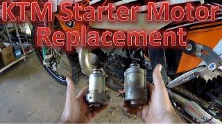 10. KTM Starter Motor Upgrade - How To. #JJM.