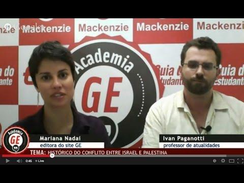 Academia GE: Atualidades - Entenda o conflito entre Israel e Palestina