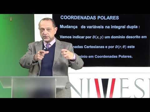 Cálculo II - Aula 22 - Mudança de coordenadas - Coordenadas Polares