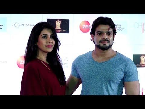 Karan Patel & Ankita Bharghava at Zeetv Kumkum Bha