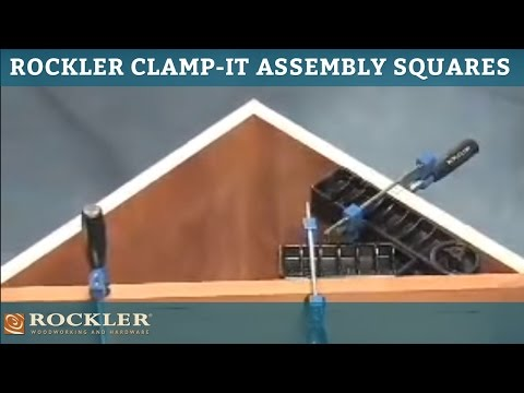Rockler's Clamp-It Assembly Squares