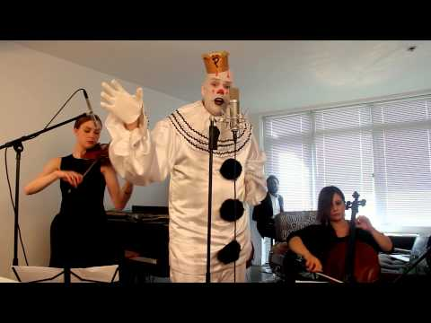 """Chandelier – """"Sad Clown with the Golden Voice"""" Sia Cover ft. Puddles"""
