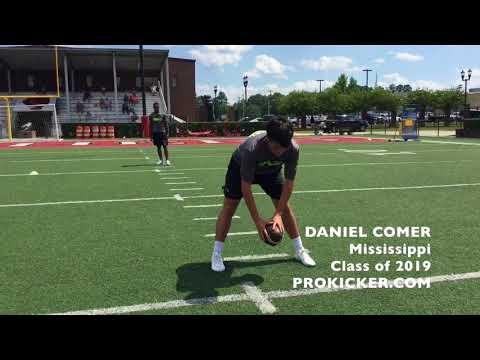 Daniel Comer - Prokicker.com Long Snapper - Class of 2019