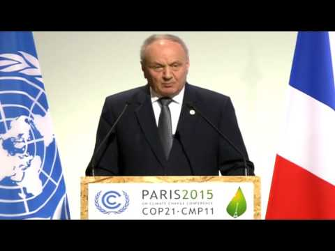 Moldovan president participates in UN Climate Change Conference