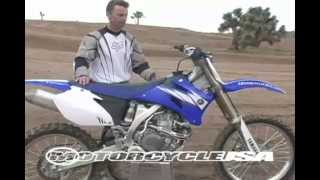 2. 2006 Yamaha YZ450F First Ride - MotoUSA