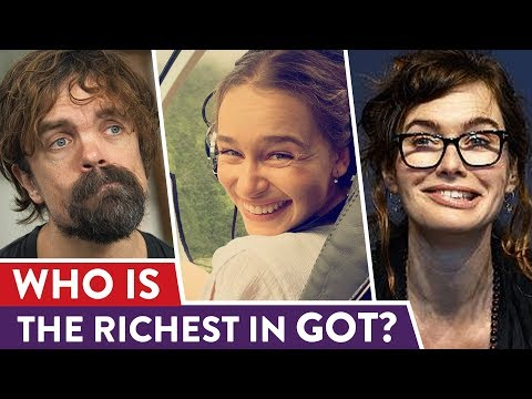 Game Of Thrones Real Cast Salaries Revealed | ⭐ossa