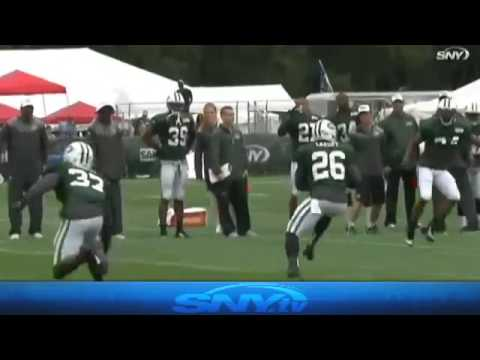 Video: Jets Camp Report: Sluggish Tuesday