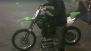 8. 2008 Kawasaki Kx100 For Sale