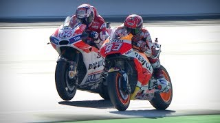 Video Best overtakes from 2017 in MotoGP™ MP3, 3GP, MP4, WEBM, AVI, FLV April 2018