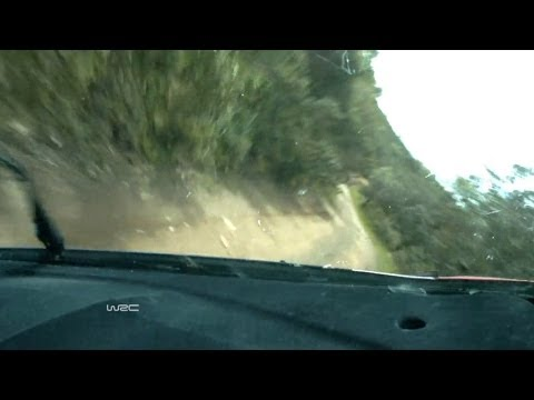 Rally de Portugal | Robert Kubica crash SS4 onboard