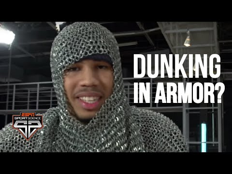 Jayson Tatum Can Dunk Even With Armor On | Sport Science | ESPN (видео)