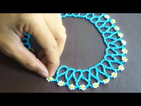 How To Make Pearl Beads Neckless | Easy Diy Jewelry Making Idea