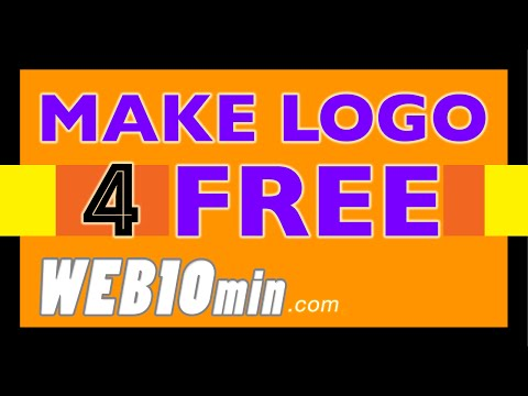 How To Make a Logo – In 10 Minutes – For My Business – For Free