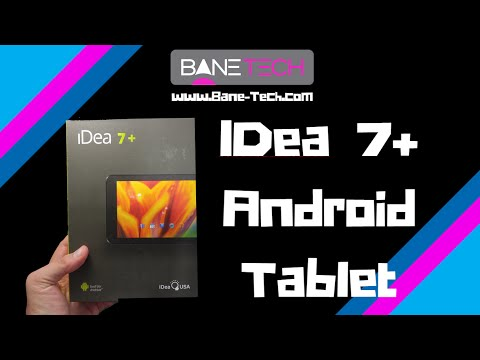 Cheap Budget Android Tablet - IdeaUSA 7+ - Unboxing and First Impressions