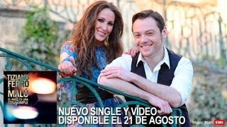 Tiziano Ferro Y Malú - El amor es una cosa simple (Teaser)