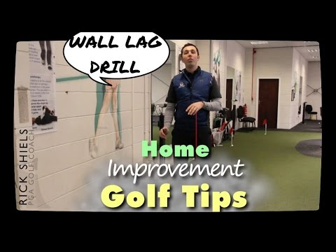 WALL GOLF LAG DRILL – Home Improvement Series