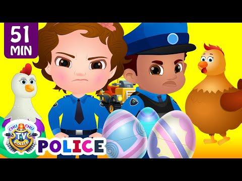 ChuChu TV Police Save The Super Hens from Bad Guys | Police Car Chase | ChuChu TV Surprise Eggs Toys - Thời lượng: 51:38.