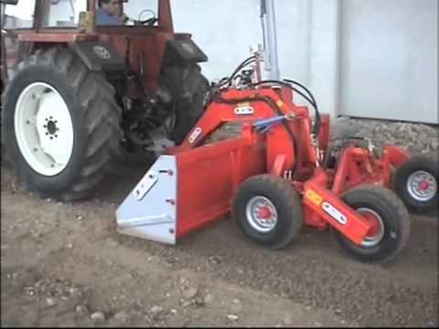 Lama livellatrice mini rossetto macchine agricole for Di raimondo macchine agricole