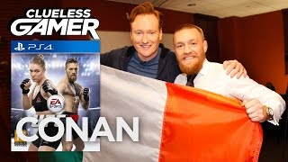 "Video Clueless Gamer: ""UFC 2"" With Conor McGregor  - CONAN on TBS MP3, 3GP, MP4, WEBM, AVI, FLV April 2019"